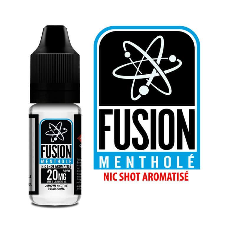 Halo Fusion Menthol Nicoboost - Pack de 12 flacons