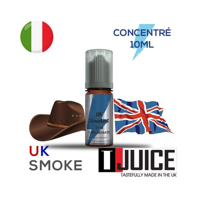 UK Smokes Aroma Concentrato 10ML ITALIA