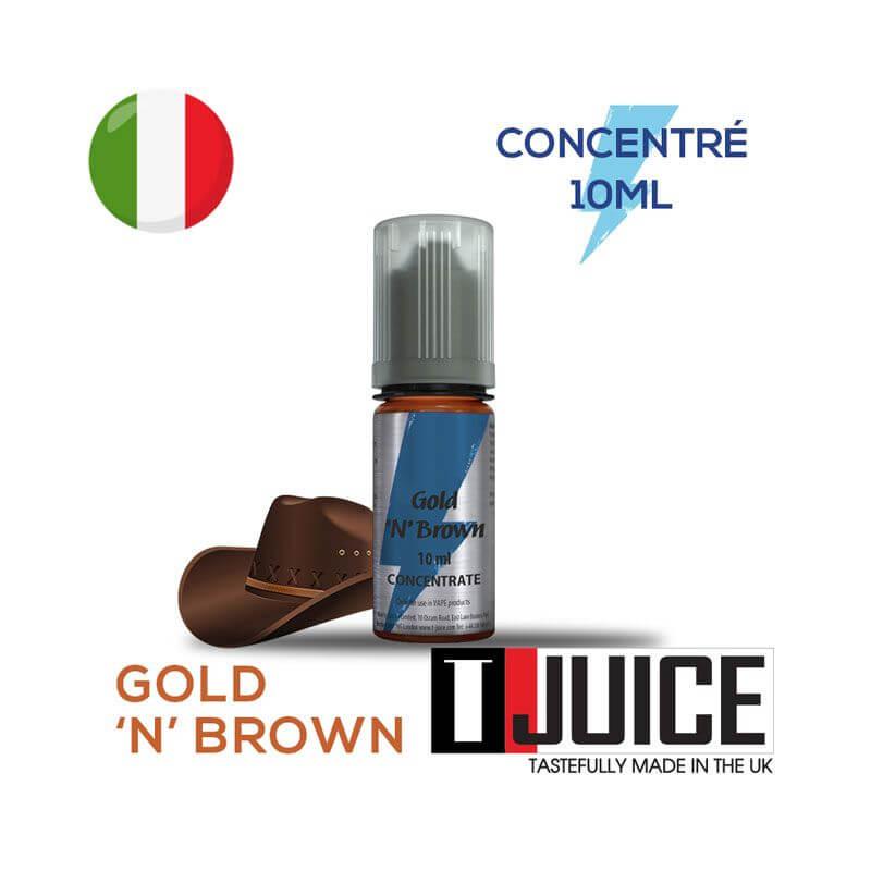 Gold 'n' Brown Aroma Concentrato 10ML ITALIA
