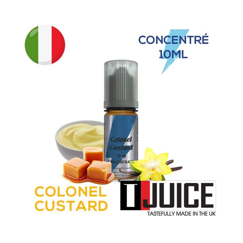 Colonel Custard Aroma Concentrato 10ML ITALIA