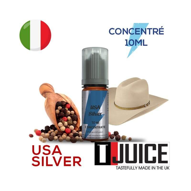 USA Silver Aroma Concentrato 10ML ITALIA