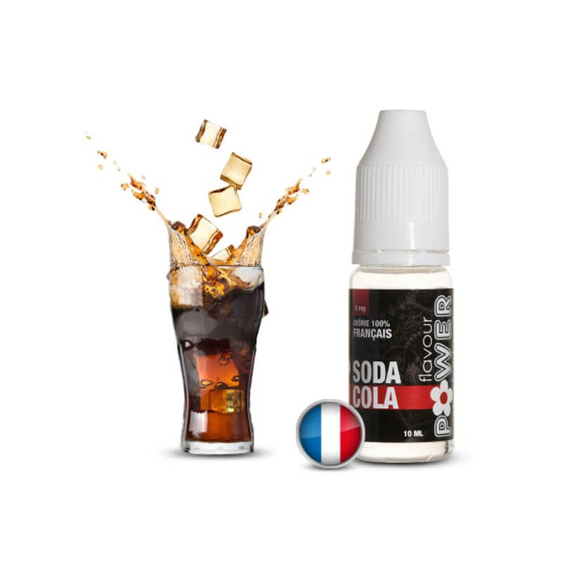 Flavour Power 10ml: SODA COLA 80/20