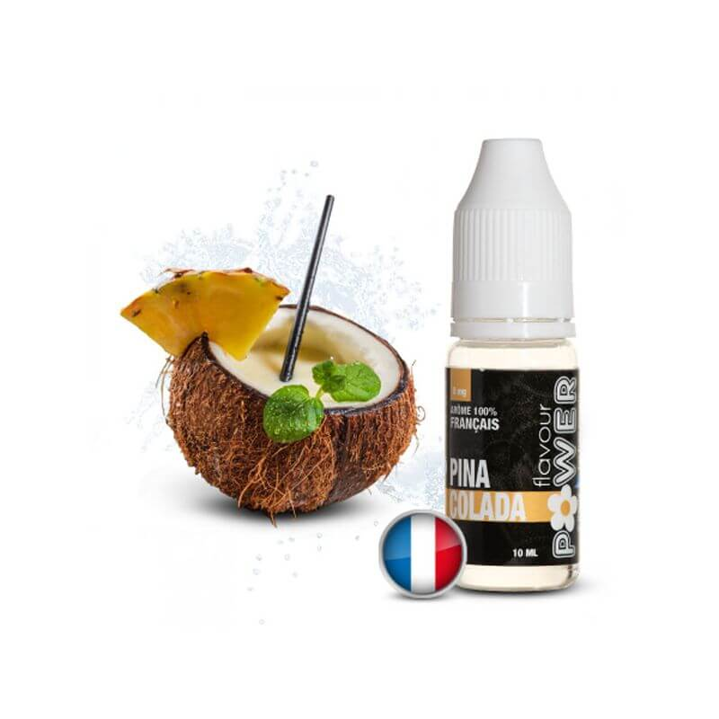 Flavour Power 10ml: PIÑA COLADA 80/20