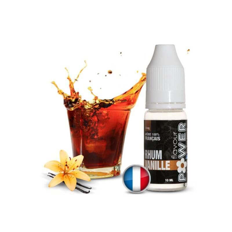 Flavour Power 10ml: RHUM VANILLE 80/20