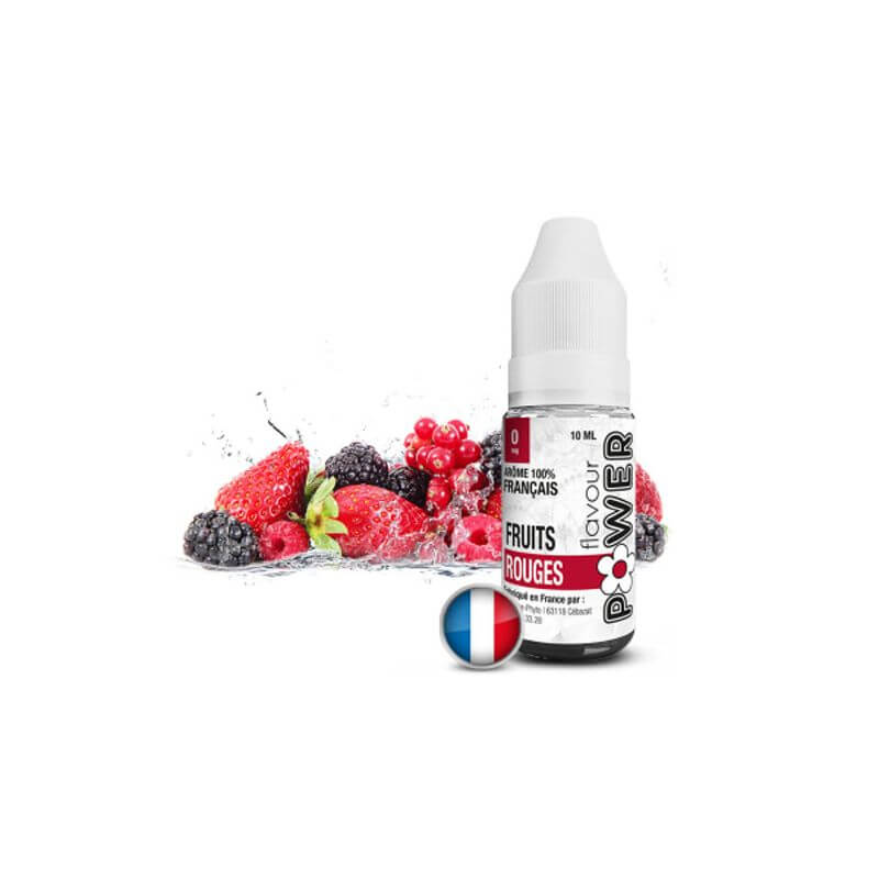 Flavour Power 10ml: Fruits Rouges 50/50