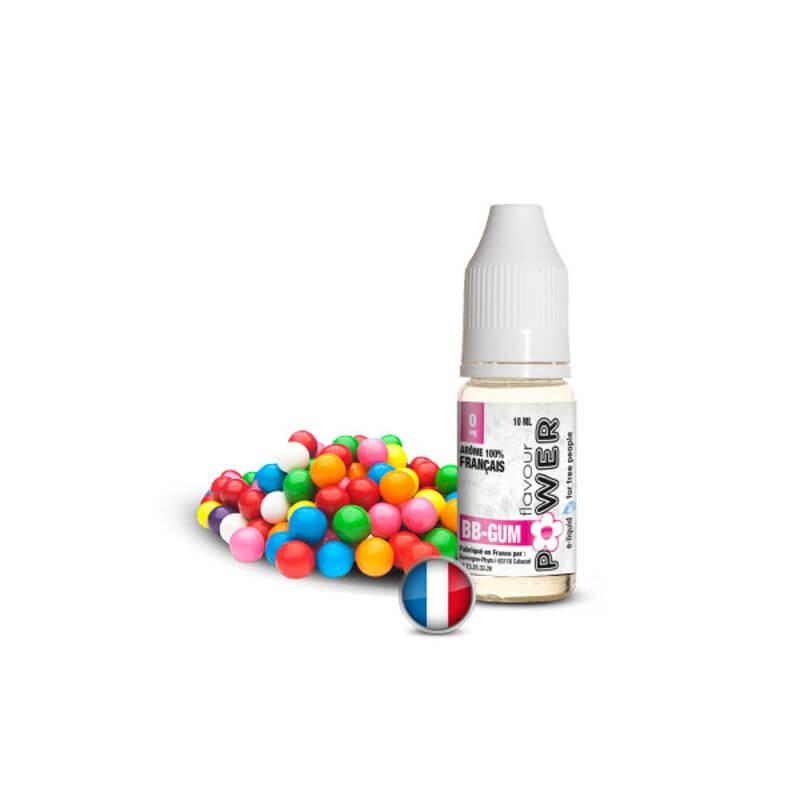 Flavour Power 10ml: BB GUM 50/50