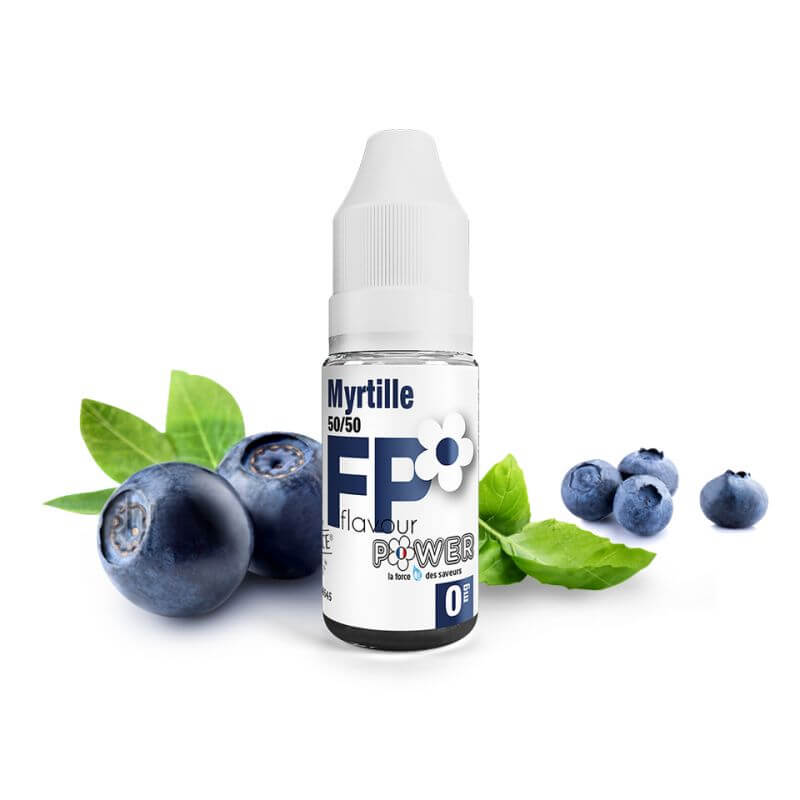 Flavour Power 10ml: Myrtille 50/50