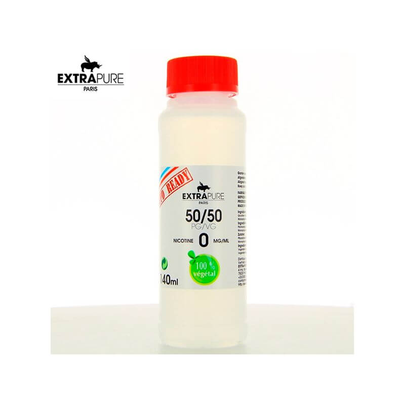 Extrapure: Base 140ml 00MG - 50/50