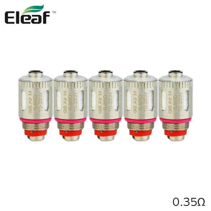 Eleaf: Résistances GS Air M (5pcs)