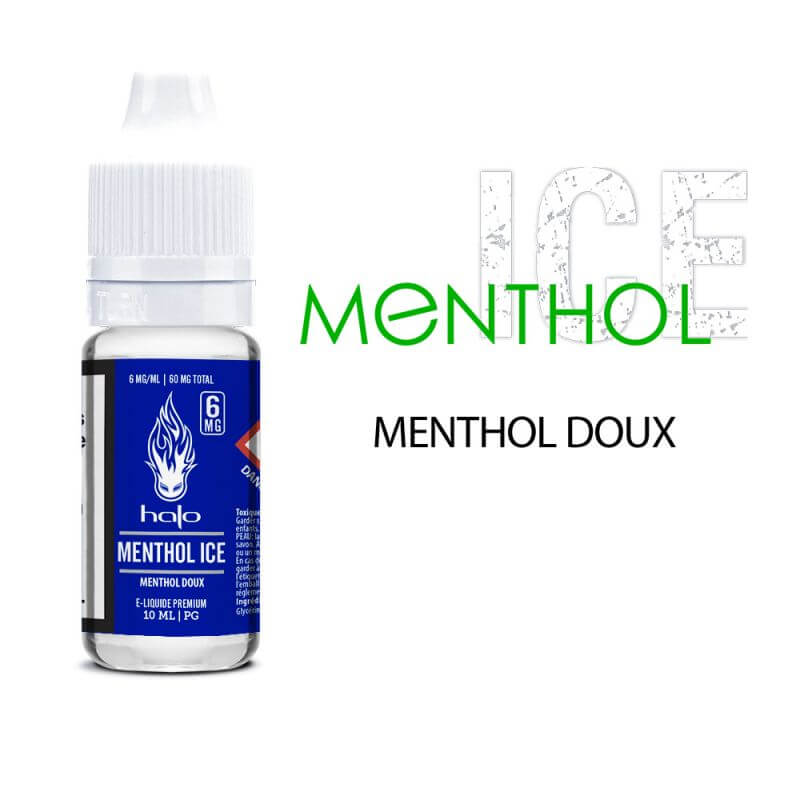 Halo 10ml:PG Menthol Ice