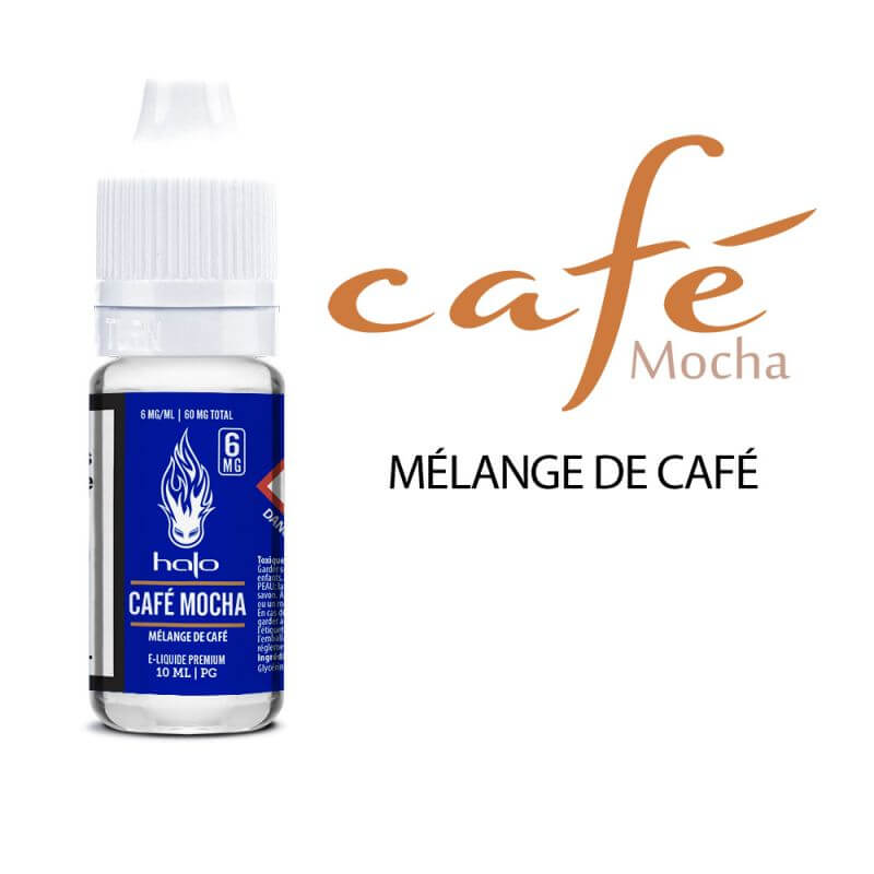 Halo 10ml: PG Café Mocha