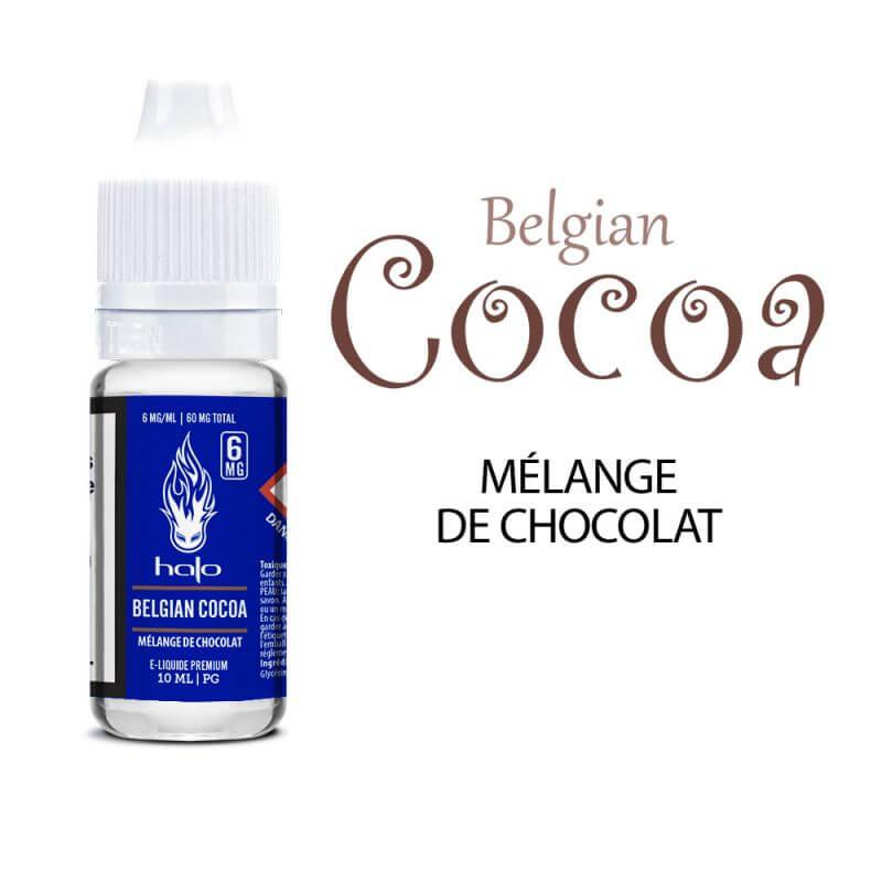 Halo 10ml: PG Belgian Cocoa