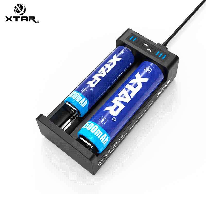 Xtar Chargeur d'accus MC2 Plus