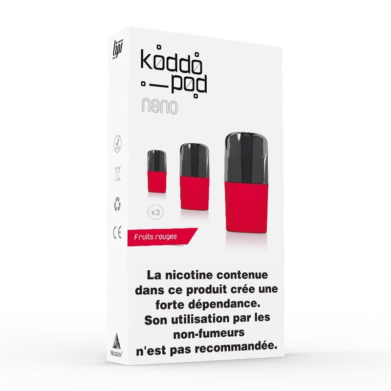 Pods Fruits rouges 2ML (3pcs)