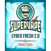 SuperVape: Concentré Cyber Fresh 2.0 10ml