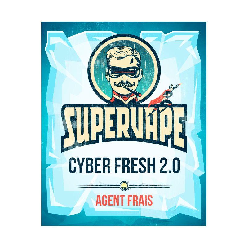 SuperVape: Concentré Cyber Fresh 2.0 10ml