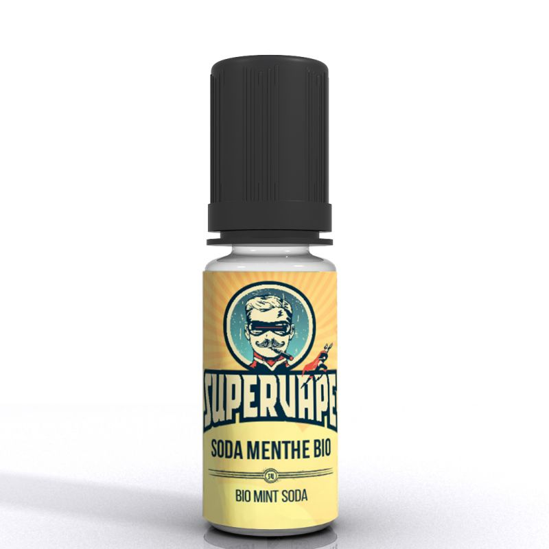 SuperVape: Concentré Soda Menthe Bio 10ml