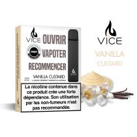 VICE Pod jetable - Vanilla Custard (Pack de 3)