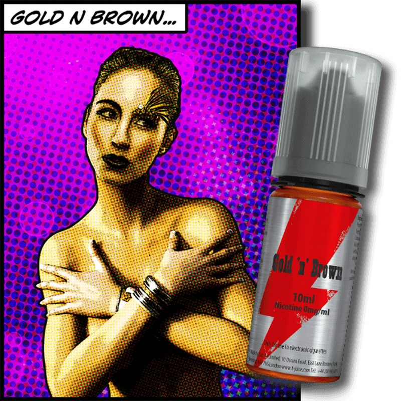 TJUICE VERT - Gold n Brown 10ML