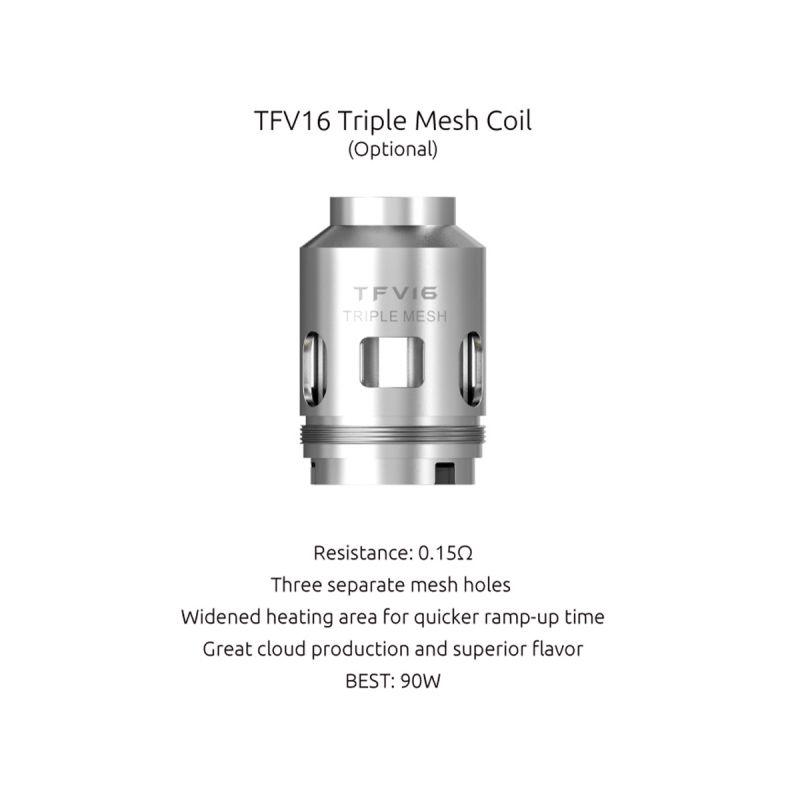 Smok Résistances TFV16 (3pcs)