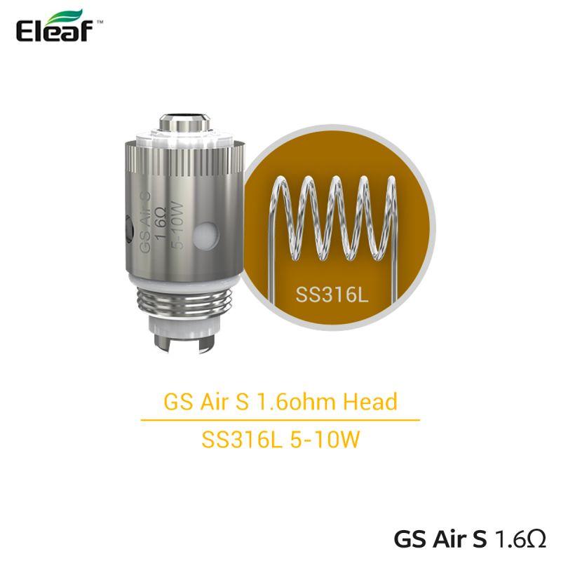 Eleaf Résistances GS Air S (5pcs)