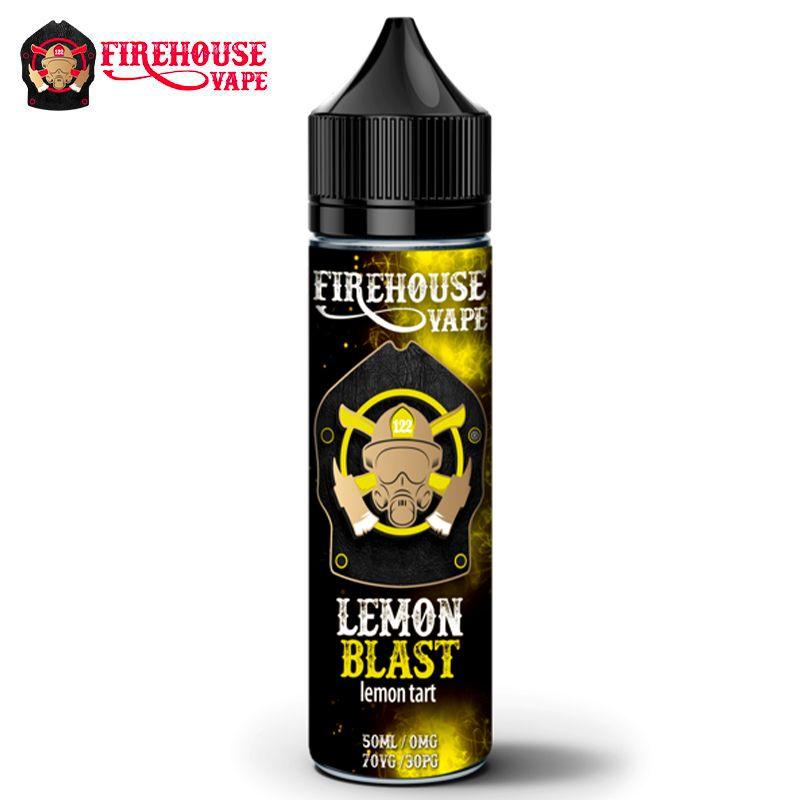Firehouse Vape: Lemon Blast - 50ml
