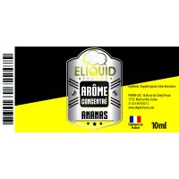 Arôme Ananas 10ml - Eliquid France