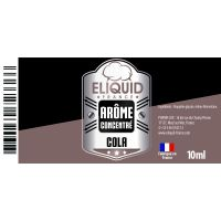 Arôme Cola 10ml - Eliquid France