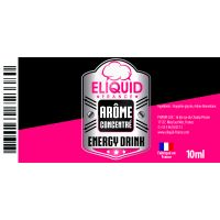 Arôme Energy Drink 10ml - Eliquid France