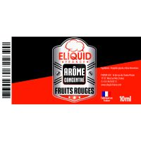 Arôme Fruits rouges 10ml - Eliquid France