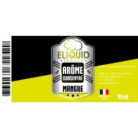 Arôme Mangue 10ml - Eliquid France