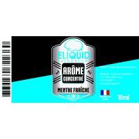 Arôme Menthe Fraîche 10ml - Eliquid France