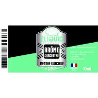 Arôme Menthe glaciale 10ml - Eliquid France