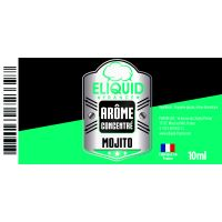 Arôme Mojito 10ml - Eliquid France