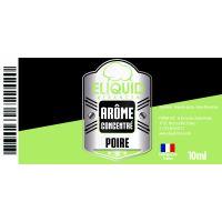 Arôme Poire 10ml - Eliquid France