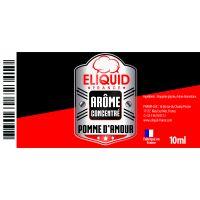 Arôme Pomme d'amour 10ml - Eliquid France