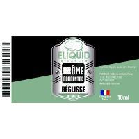 Arôme Réglisse 10ml - Eliquid France