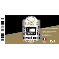 Arôme Tabac à rouler 10ml - Eliquid France