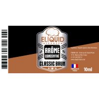 Arôme Tabac Brun 10ml - Eliquid France