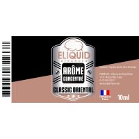 Arôme Tabac Oriental 10ml - Eliquid France