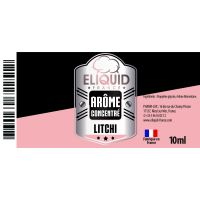 Arôme Litchi 10ml - Eliquid France