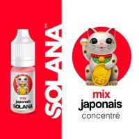 Concentré Mix japonais 10ml - Solana