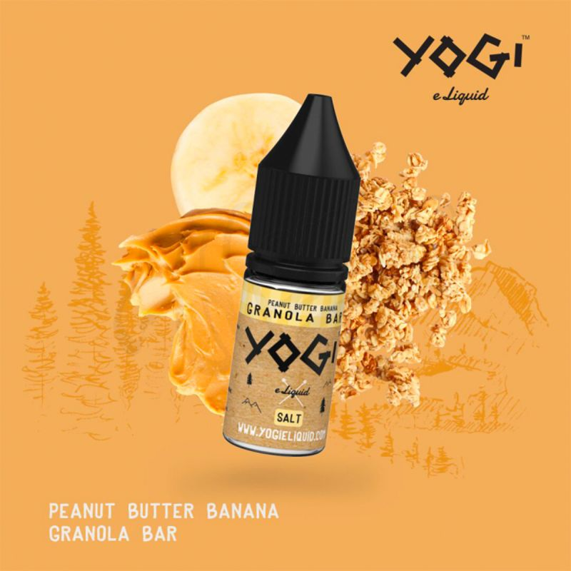 Peanut Butter Banana Granola Bar 10ml - Yogi Salt Nic