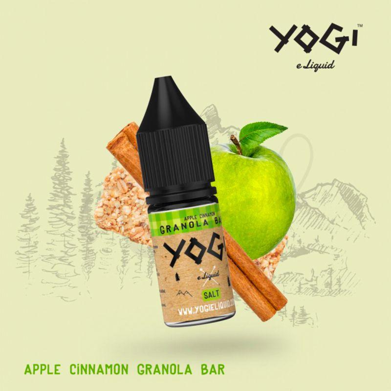 Apple Cinnamon Granola Bar 10ml - Yogi Salt Nic