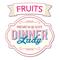 Dinner Lady Fruits 50ml